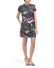 DSQUARED Made In Italy Silk Dress