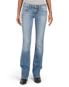 TRUE RELIGION Bootcut Jeans With Contrast Stitchin