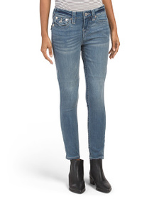 TRUE RELIGION Halle Jeans With Flap Pockets