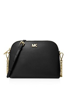 MICHAEL Michael Kors - Large Leather Zip Dome Cros