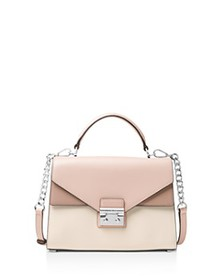 MICHAEL Michael Kors - Sloan Medium Double Flap Le