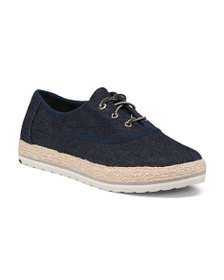 TIMBERLAND Lace Up Slip On Sneakers