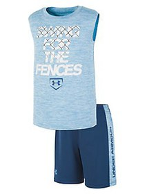 Under Armour Little Boy's Swing For The Fences Top