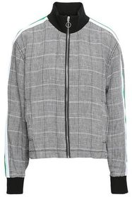 CURRENT/ELLIOTT Prince of Wales checked linen jack