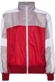EACH X OTHER Printed color-block shell track jacke
