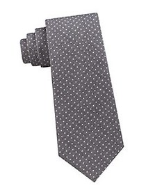 Michael Kors Dot Printed Tie GREY