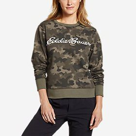 Women's Camp Fleece Logo Crewneck Sweatshirt -