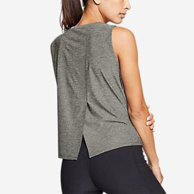 Women's Infinity Split-Back Tank Top