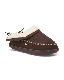 KOOBA Slippers With Faux Sherpa Lining