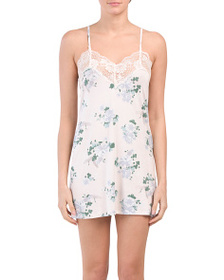 VINCE CAMUTO Bella Delicate Floral Chemise