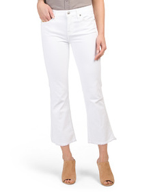 7 FOR ALL MANKIND Cropped High Rise Bootcut Jeans