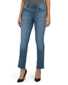J BRAND Made In Usa Mid Rise Straight Jeans