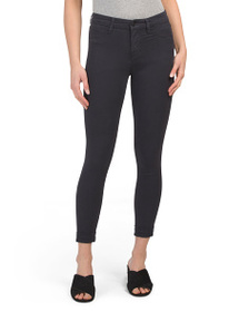 J BRAND Anja Mid Rise Cuffed Cropped Jeans
