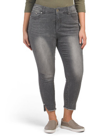 SEVEN7 Plus Ankle Skinny Jeans