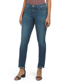 J BRAND Made In Usa Maude Mid Rise Skinny Jeans