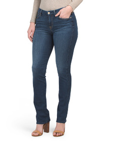 7 FOR ALL MANKIND Mid Rise Kimmie Straight Leg Jea