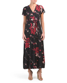 FRENCH CONNECTION Floral Maxi Dress