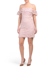 FRENCH CONNECTION Fulaga Floral Lace Dress