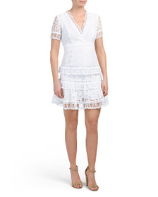 FRENCH CONNECTION Arta Lace Dress