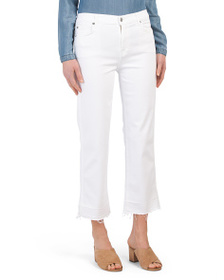 7 FOR ALL MANKIND Kiki High Waisted Straight Jeans
