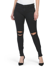 J BRAND Ankle Mid Rise Skinny Jeans