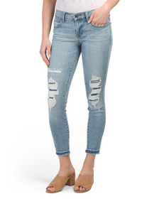 J BRAND Made In Usa Diversion Destructed Low Rise