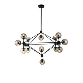 Arnoldsville 12-Light Geometric Chandelier
