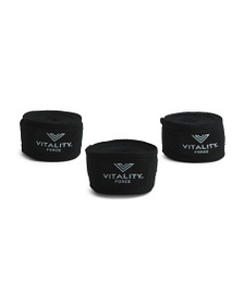 VITALITY FORCE 3pk Boxing Hand Wraps