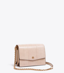 Tory Burch ROBINSON SNAKE CONVERTIBLE SHOULDER BAG