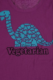 Forever21 Vegetarian Graphic Tee