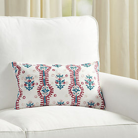 Suzanne Kasler Elba Embroidered Pillow Cover