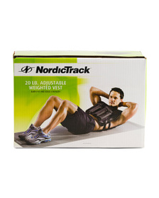 NORDIC TRACK 20lb Weighted Vest