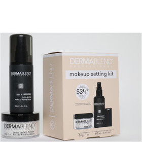 Dermablend Make Up Setting Gift Set with Setting P