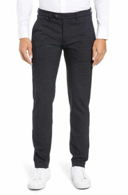 Ted Baker London Portula Slim Fit Check Trousers T