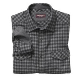Johnston Murphy Mélange Double-Pocket Shirt