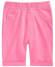 First Impressions Baby Girls Pull-On Bermuda Short
