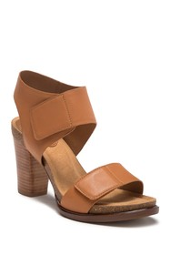 Sofft Cabana Leather Block Heel Sandal