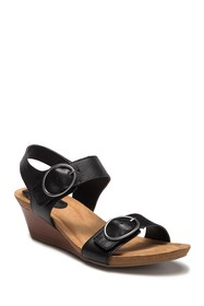 Sofft Valina Leather Wedge Sandal