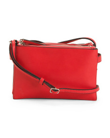 FRENCH CONNECTION Triple Top Zip Crossbody