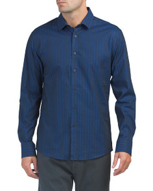 VINCE CAMUTO Spread Collar Shirt