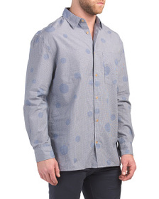 FRENCH CONNECTION Gingham Bubble Woven Shirt