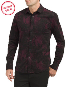 VINCE CAMUTO Corduory Sport Shirt