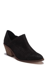 Vince Camuto Derindia Laser-Cut Ankle Bootie