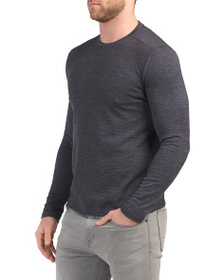 VINCE CAMUTO Mouline Crew Neck Tee