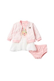 Juicy Couture Lace Overlay 3-Piece Set (Baby Girls