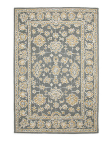 MOMENI Made In India Hooked Wool Blend Area Rug