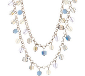"""""""As Is"""" Joan Rivers Cube Bead 42"""" Necklace with 3"""""""