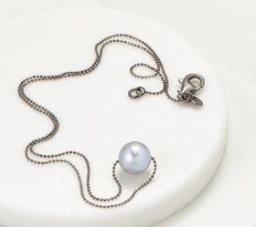 Honora Cultured Pearl Colored Ming Sterling Silver