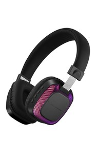 null Disco LED On-the-Ear Bluetooth Headphones - B