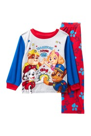 AME Paw Patrol Teamwork Fleece Pajama Set (Toddler